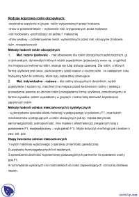 Metody hodowli roślin obcopylnych - Notatki - Hodowla odpornościowa