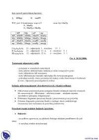 Testowanie odporności roślin - Notatki - Hodowla odpornościowa