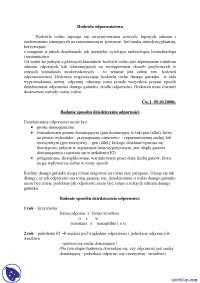 Badanie sposobu dziedziczenia odporności - Notatki - Hodowla odpornościowa