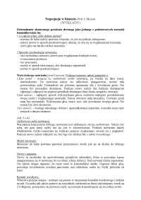Negocjacje w biznesie - Notatki - Turystyka