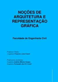 Noções de Arquitetura e Representação gráfica - Apostilas - Arquitetura e Urbanismo