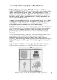 Sistemas de información geográfica (SIG): conceptos generales