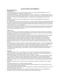 Kazusy prawa rzymskiego - Notatki - Prawo