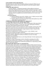 Znaczenie nauki zarzadzania - Notatki - Prawo