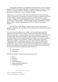 Grupa Maspex Wadowice - Notatki - Zarządzanie