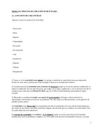 El proceso de creación publicitaria - Apuntes - publicidad