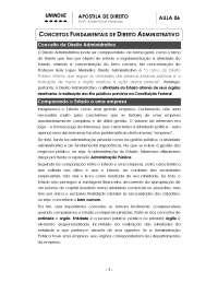 Direito Administrativo - Apostilas - Comércio Exterior