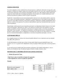 Costos conjuntos - Apuntes - Management