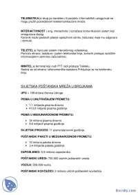 Svetska postanska mreza-Skripta-Automatizacija-Saobracajni fakultet