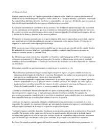 Impuesto sobre beneficios y reservas  - Apuntes - Management