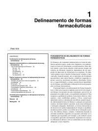 Delineamento de formas farmacêuticas - Apostilas - Medicina