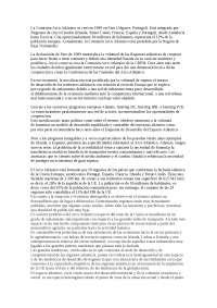 La comisión Arco Atlántico: aspectos generales