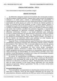 Prova de Conhecimentos Específicos - Administração - Tipo II - UFSJ