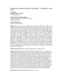 Planejamento Estratégico Situacional no Setor Público - Apostilas - Ciências Políticas