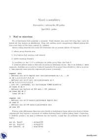 Nizovi u asembleru-Beleska-Informatika i racunarstvo