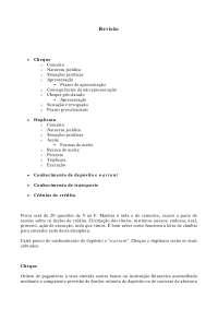 Conceitos de Direito Cambiário - Apostilas - Direito Cambiário