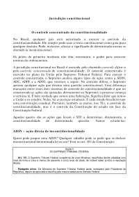 Jurisdição constitucional - Apostilas - Direito Constitucional