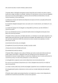 Exame 8 - Apostilas - Ética Profissional