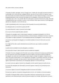 Exame 5 - Apostilas - Ética Profissional