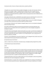 Exame 9 - Apostilas - Ética Profissional