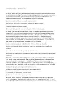 Exame 6 - Apostilas - Ética Profissional