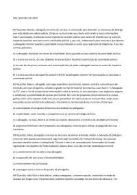 Exame 3 - Apostilas - Ética Profissional