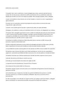 Exame 2 - Apostilas - Ética Profissional