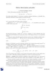 Obicne diferencijalne jednacine-Skripta-Parcijalne diferencijalne jednacine-Matematika