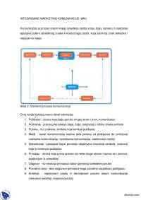INTEGRISANE MARKETING KOMUNIKACIJE-Skripta-Farmaceutski marketing-Farmacija