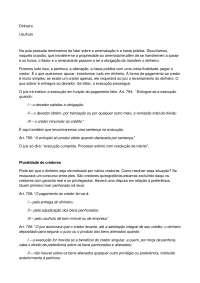 Usufruto - Apostilas - Direito Processual Civil