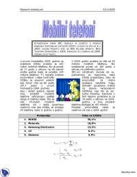 Mobilni telefoni-Beleska-Softverski alati 1-Informatika