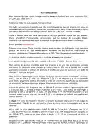 Títulos extrajudiciais - Apostilas - Direito Processual Civil