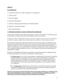 El usufructo - Apuntes - Derecho