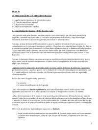 La publicidad de los derechos reales - Apuntes - Derecho