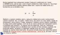 Brzina svetlosti-Vezbe-Indeks loma-Fizika