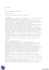 Evolução da Legislação Ambiental Brasileira - Apostilas - Engenharia