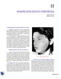 Maksilofacijalna hirugrija-Skripta-Hirurgija-Medicina
