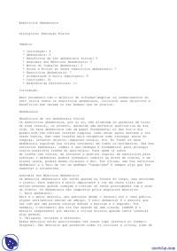 Atividade Abdominal - Apostilas - Educação Física