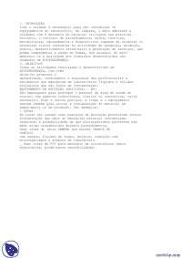 Biossegurança - Apostilas - Educação Física