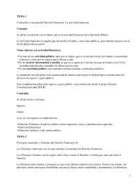 Contenido y concepto del Derecho Financiero, la actividad financiera - Apuntes - Derecho_Parte1