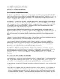 Los derechos reales limitados - Apuntes - Derecho_Parte1