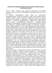 Znaczenie zarządzania jakością - Notatki - Zarządzanie jakością