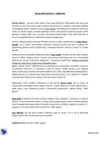 Slovenacke kulture-Beleska-Filologija