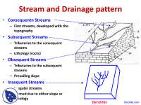 Stream and Drainage - Engineering Geology - Lecture Slides