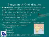 Bangalore - Geography - Lecture Slides