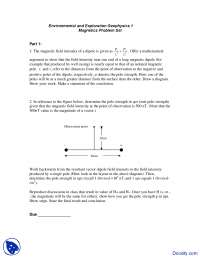Environmental and Exploration Geophysics - Environmental Geology - Assignment