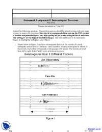 Seismological - Environmental Geology - Assignment