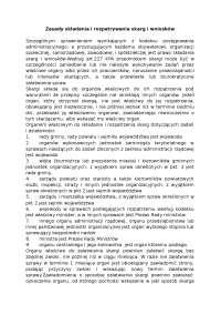 Zasady składania i rozpatrywania skarg i wniosków - Notatki - Administracja