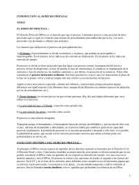 Introducción al Derecho Procesal - Apuntes - Derecho Procesal