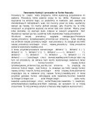 Tworzenie funkcji i procedur w Turbo Pascalu - Notatki - Programowanie